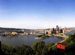 Leiebil Pittsburg